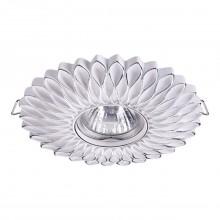 Встраиваемый светильник Novotech 370490 Pattern белый/серебро GU10 50 Вт