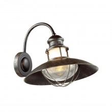 Уличный настенный светильник Odeon Light 4164/1W Dante коричневый/прозрачный E27 1*60 Вт