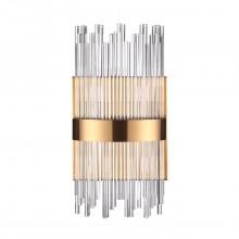 Бра Odeon Light 4722/4W Focco бронзовый/стекло/прозрачный G9 4*40 Вт