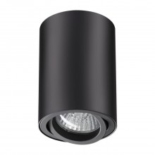 Накладной светильник Novotech 370418 Pipe черный GU10 50 Вт