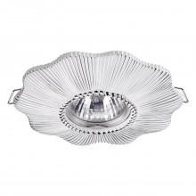 Встраиваемый светильник Novotech 370492 Pattern белый/серебро GU10 50 Вт