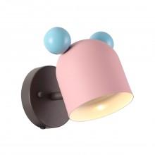 Бра детское Odeon Light 4731/1W Mickey коричневый/розовый/голубой GU10 5 Вт