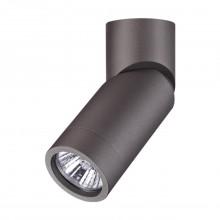 Светильник накладной Novotech 370590 Elite серебристый черный GU10 50 Вт