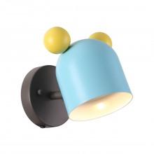 Бра детское Odeon Light 4732/1W Mickey коричневый/голубой/желтый GU10 5 Вт