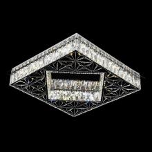 Потолочная люстра светодиодная Omnilux OML-00407-112 Lonato Хром LED 112 Вт с пультом