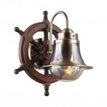 Бра Omnilux OML-50701-01 Croce Бронза+коричневый E27 60 Вт