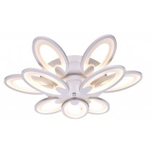 Люстра потолочная светодиодная с пультом Omnilux OML-45807-120 Glastonbury белый 120 Вт