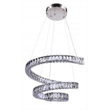 Люстра подвесная светодиодная с пультом Omnilux OML-46703-144 Osilo хром 144 Вт