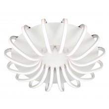 Люстра потолочная светодиодная с пультом Omnilux OML-48107-112 Furtei белый 112 Вт