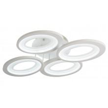 Люстра потолочная светодиодная с пультом Omnilux OML-49507-64 Montresta белый 64 Вт