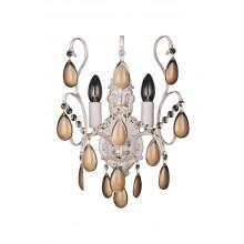Бра хрустальное Omnilux OML-74501-02 Agrigento белое золото