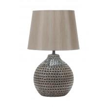 Настольная лампа Omnilux OML-83304-01 Marritza серый
