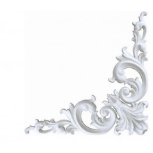 Декоративный элемент PUJH-08-F1 белый