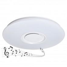 Музыкальный светильник c динамиком MP Zn-48-Gs 48W белый