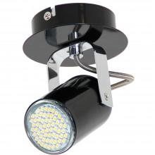 Светильник спот Luminex NICK 6140 чёрный, хром