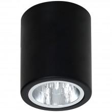 Накладной точечный светильник Luminex DOWNLIGHT ROUND 7237 чёрный