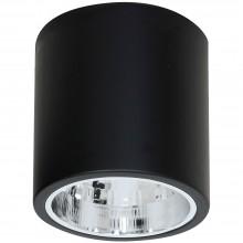 Накладной точечный светильник Luminex DOWNLIGHT ROUND 7241 чёрный