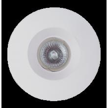 Светильник гипсовый Светкомплект AZL 02 WH 130 мм белый