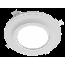 Врезной гипсовый светильник Roden RD 261 ф292 мм LED 18w 2700K/4500K 1440Lm