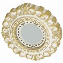 Светильник гипсовый Roden Light RD-028 WH/G белый с золотом