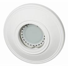 Светильник гипсовый Светкомплект AZT 13 WH (RD-113) ф110 мм белый