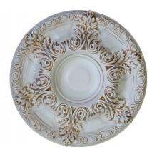 Розетка потолочная 12-60 AWT белый антик