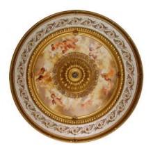 Панно 15RDL-023 ABR круглое бронза антик