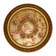 Панно 80RDL-096 ABR PS круглое бронза антик