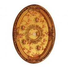 Панно 0811RB-096 ABR PS овальное бронза антик