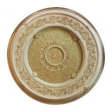Панно 15RDL-052 AWT круглое белый антик