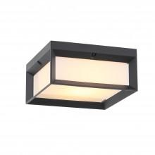 SL077.402.01 Светильник уличный потолочный ST-Luce Черный/Белый LED 1*12W