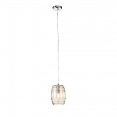 SL1051.103.01 Светильник подвесной ST-Luce Хром/Коньячный E27 1*60W