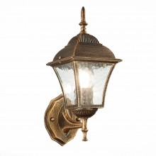 SL082.201.01 Светильник уличный настенный ST-Luce Бронза/Бронза, Прозрачный E27 1*60W