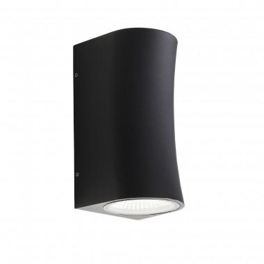 SL088.411.02 Светильник уличный настенный ST-Luce Черный кварцевый LED 2*5W