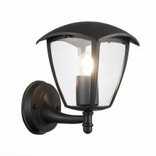 SL081.401.01 Светильник уличный настенный ST-Luce Черный/Черный, Прозрачный E27 1*40W
