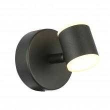 SL1597.401.01 Светильник настенный ST-Luce Черный/Белый LED 1*6W