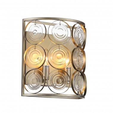 SL1105.201.02 Светильник настенный ST-Luce Золотой с патиной/Золото, Прозрачный E14 2*60W