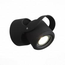Светильник уличный настенный ST Luce SL093.401.01 Round 7 Вт черный 4000K