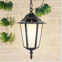 Уличный подвесной светильник IP44 GL 1004H черное золото