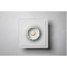 Врезной гипсовый светильник SV 7438 200*200 мм GU5,3