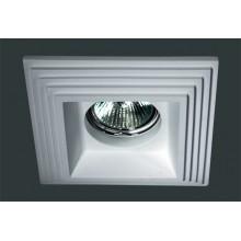 Гипсовый светильник SvDecor SV 7005 белый 120*120 мм