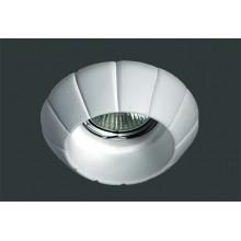 Гипсовый светильник SvDecor SV 7008 белый ф95 мм