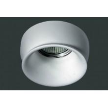 Гипсовый светильник SvDecor SV 7017 белый ф90 мм