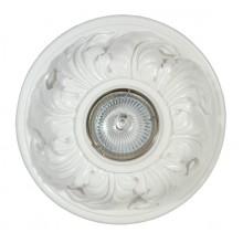 Гипсовый светильник SvDecor SV 7025 белый ф158 мм