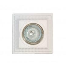 Гипсовый светильник SvDecor SV 7028 белый ф113 мм