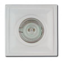 Гипсовый светильник SvDecor SV 7044 белый ф110 мм