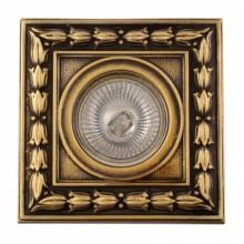 Гипсовый светильник SvDecor SV 7048 AB/L бронза 108*108 мм