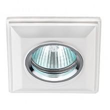 Гипсовый светильник SvDecor SV 7058 белый 120*120 мм
