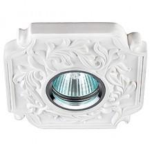 Гипсовый светильник SvDecor SV 7060 белый 120*120 мм