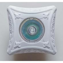 Гипсовый светильник SvDecor SV 7070 белый 100*100 мм
